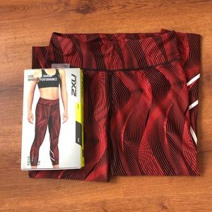 529171180a 2XU Compression Tights 7/8 Length